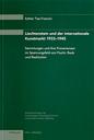 2005 Liechtenstein und der internationale Kunstmarkt 1933-1945 (Studie 4)