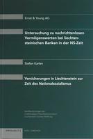 2005 Untersuchung zu nachrichtenlosen Vermögenswerten bei liechtensteinischen Banken in der NS-Zeit (Studie 5)