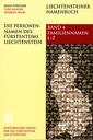 2008 Liechtensteiner Namenbuch: Die Personenamen des Fürstentums Liechtenstein