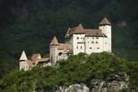 2014, 23. August - Besichtigung der Burg Gutenberg in Balzers