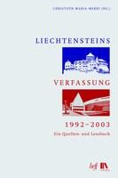 2015, 25. September - Einladung zur Subskription: Liechtensteins Verfassung, 1992-2003