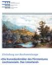 """2013, 13. November - Buchpräsentation """"Die Kunstdenkmäler des Fürstenstums Liechtenstein. Das Unterland"""" - Cornelia Herrmann"""